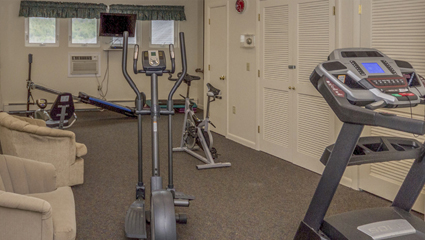 River View Resort Workout Room
